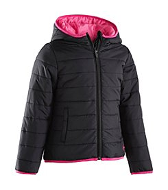 Under Armour® Baby Girls' Solid Logo Puffer Jacket
