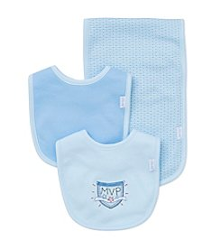 Little Me® Baby Boys MVP Bib And Burp Cloth Set