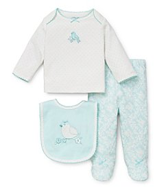 Little Me® Baby Girls' Newborn-9M Three-Piece Happy Birdie Set
