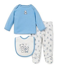 Little Me® Baby Boys' Newborn-9M Three-Piece Teddybear Set