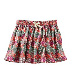 OshKosh B'Gosh® Girls' 2T-4T Floral Corduroy Skirt