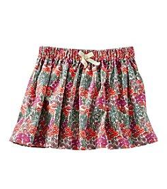 OshKosh B'Gosh® Girls' 2T-4T Floral Corduroy Skirt