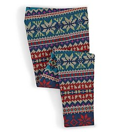 Ralph Lauren Childrenswear Girls' 4-6X Fair Isle Leggings