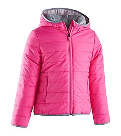 Under Armour® Girls' 2T-6X Solid Logo Puffer Jacket