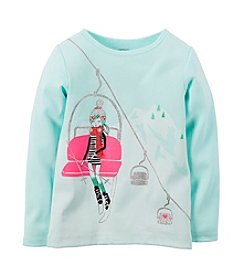 Carter's® Girls' 2T-6X Winter Ski Tee