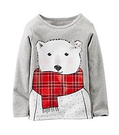 Carter's Girls' 2T-6X Polar Bear Tee