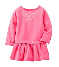 Carter's® Girls' 2T-6X Long Sleeve Floral Embroidered Tunic