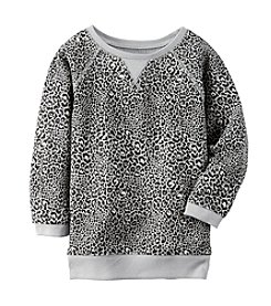 Carter's® Girls' 2T-6X Long Sleeve Animal Print Tunic