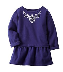 Carter's® Girls' 2T-6X Embroidered Collar Tunic