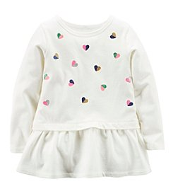 Carter's® Girls' 2T-6X Embellished Peplum Tunic