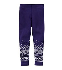 Carter's® Girls' 4-6X Fair Isle Bottom Leggings