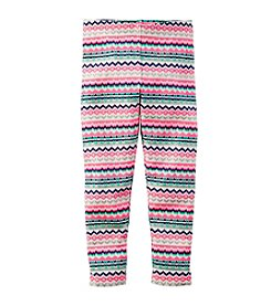 Carter's® Girls' 2T-6X Fairisle Striped Leggings