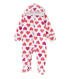 Cuddle Bear Baby Technicolor Love Hooded Bunting