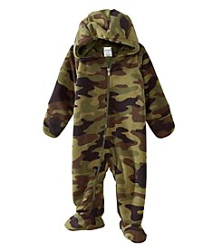 Cuddle Bear® Baby Invisible Baby Camo Hooded Bunting