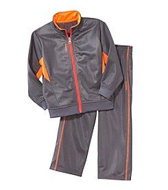 Reebok® Boys' 12M-7 Honeycomb Jacket Set