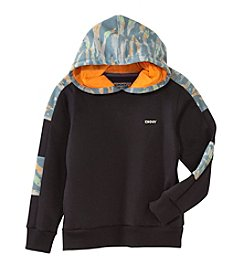 DKNY® Boys' 8-20 Remixed Pattern Hoodie