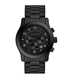 Michael Kors® Men's Black Tonal Runway Watch