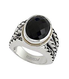 Effy® Onyx Ring In Sterling Silver
