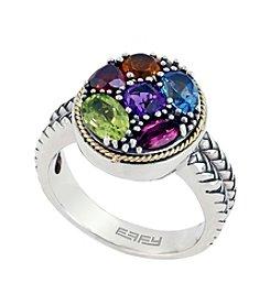 Effy® Multistone Ring In Sterling Silver