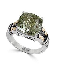 Effy® Green Amethyst Ring In Sterling Silver