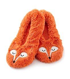 Fuzzy Babba® Fox Critter Furry Slippers