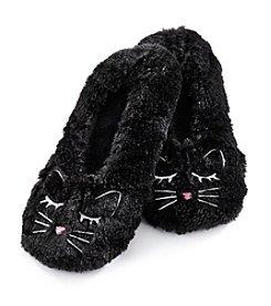 Fuzzy Babba® Cat Critter Furry Slippers