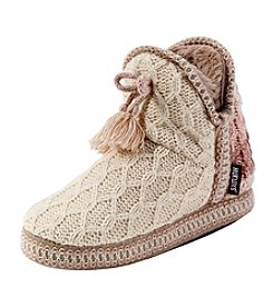 MUK LUKS Amira Slipper Booties