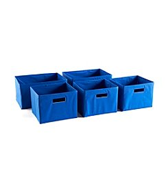 Guidecraft® Five Blue Storage Bins