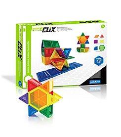 Guidecraft® 70-pc. PowerClix® Solids Set