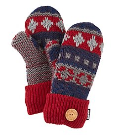 MUK LUKS Fair Isle Pot Holder Mittens
