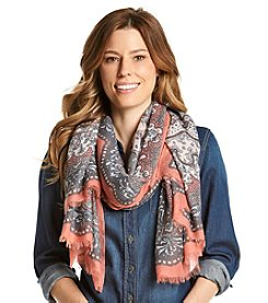 Collection 18 Long Road Paisley Scarf