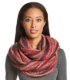 Collection 18 Lightweight Super Striped Multi Loop Scarf