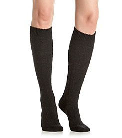 HUE® Fisherman Cable Knee Socks