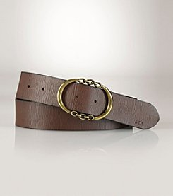 Lauren Ralph Lauren® Link Leather Belt