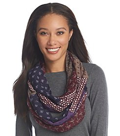 Basha Ikat Waves Eternity Scarf