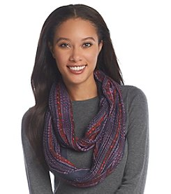 Basha Open Knit Eternity Scarf