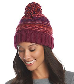 Echo Float Stitch Pom Hat