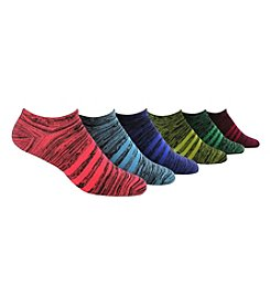 adidas® 6 Pack Marled Superlite No Show Socks