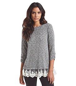 AGB® Marled Sweater