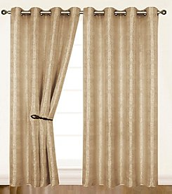 Dainty Home Helen Grommet Window Curtain
