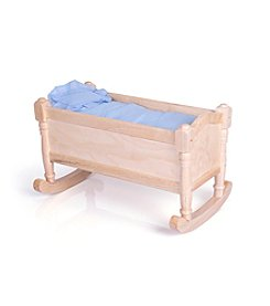 Guidecraft® Doll Cradle