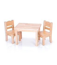 Guidecraft® Doll Table & Chairs Set
