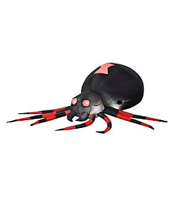 Gemmy Animated Airblown Black Spider