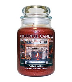 A Cheerful Giver Cozy Cabin Candle