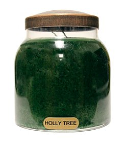 A Cheerful Giver Holly Tree Candle