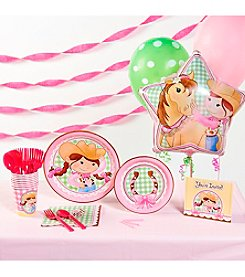 Pink Cowgirl Party Kit