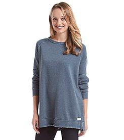 Kensie® Performance Distressed Sweatshirt