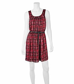 A. Byer Pleated Dress