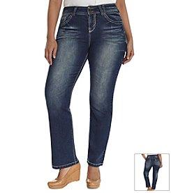 Wallflower® Plus Size Curvy Bootcut Jeans