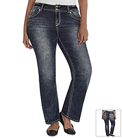 Wallflower® Plus Size Bootcut Jeans